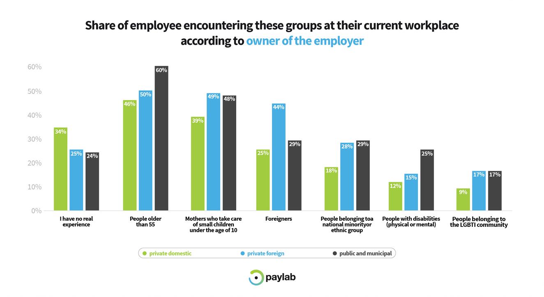 Paylab Diversity study 2019 employer ownership