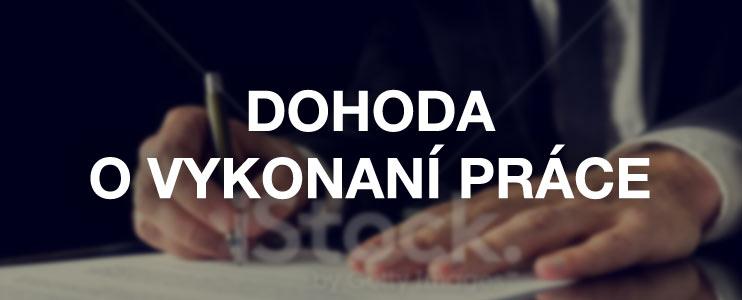 Dohoda o vykonaní práce - Slovník pojmov - Profesia.sk