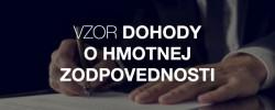 Vzor dohody o hmotnej zodpovednosti - Kariéra v kocke - Profesia.sk