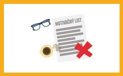 chyby v motivačnom liste