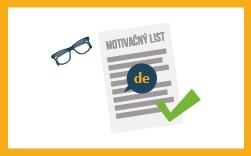 motivačný list v nemeckom jazyku