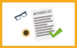 vzor motivačného listu